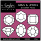 Gems & Jewels {Graphics for Commercial Use}