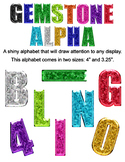 Gemstone Alphabet Bundle