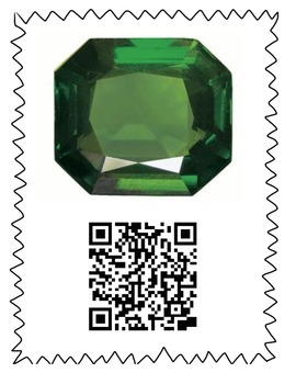 Gemstone & Birthstone QR Scavenger Hunt - Rocks, Gems, Geology