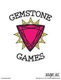 Gemstone Games: ring toss, memory, ping pong drop, matchin