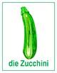 Gemüse (Vegetables in German) Posters