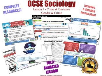 Gender, Crime & Criminality - Crime & Deviance L7/20 (GCSE Sociology)