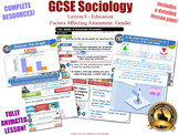 Gender & Educational Achievement - Sociology of Education