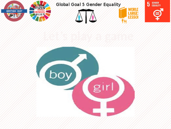 Gender Equality elementary lesson with Chinese translation