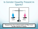 Gender Equality in Sports & Title IX - Microsoft PowerPoint