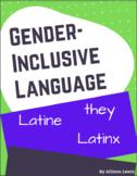 Gender-Inclusive Language