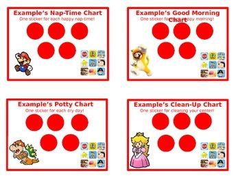Gender Neutral Sticker Chart