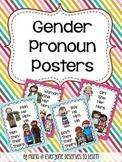 Gender Pronoun Posters