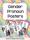 Gender Pronoun Posters