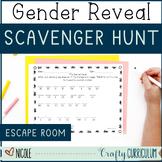 Gender Reveal Scavenger Hunt