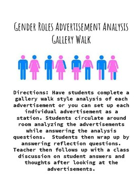 Gender Roles Advertisement Analysis