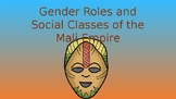 Gender Roles and Social Classes in the Mali Empire Pack