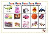 Gender Stereotypes Bundle- Cut and paste, Toys gender, Venn Diagram.
