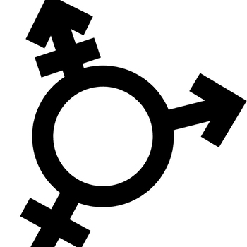 Gender Symbols Simple Line Art Clip Art Set for Commercial use