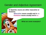 Gender and Adjective Agreement Spanish I PPT