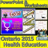 Gender and Sexuality Quiz - Health Education