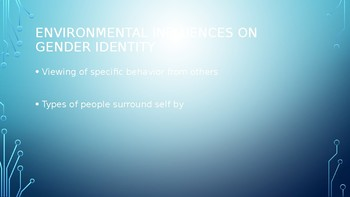 Gender identity Power Point