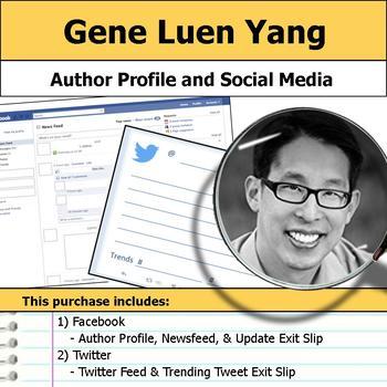 Gene Luen Yang - Author Study - Profile and Social Media
