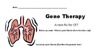 Gene Therapy Lesson featuring Cystic Fibrosis