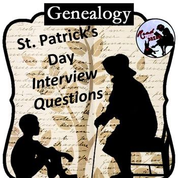 Genealogy Interview: St. Patrick's Day