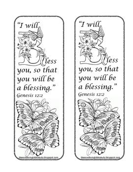 Genesis 12 Bookmark