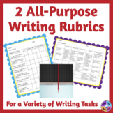 General All-Purpose Rubrics to Assess Student Writing Tasks