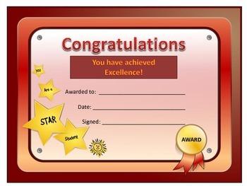 General Certificate/Award