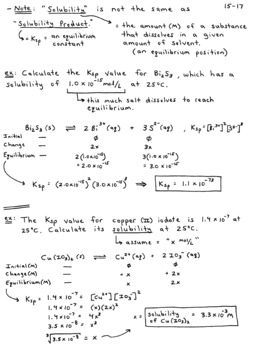 Solubility Rules Chem Worksheet 15 1 Answers   1 8 ...