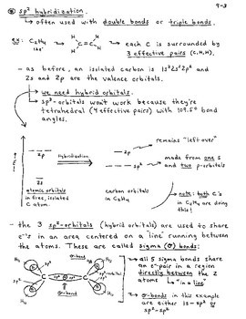 General Chemistry Section 9 - Covalent Bonding and Molecular Orbitals