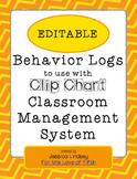 Behavior Logs for Clip Chart System