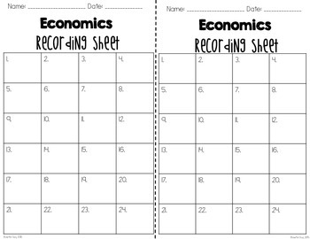 General Economics Task Cards {Saving, Spending, & So Much More!}