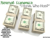 "General Economics ""I Have, Who Has?"" Whole Group Review Activity"