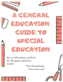 General Ed Forms for Special Education