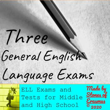 3 General English Language Exams for English Language Learners