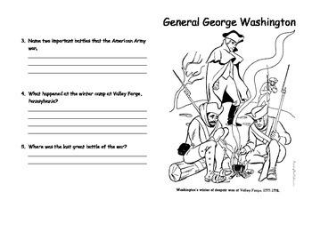 General George Washington Mini-Book