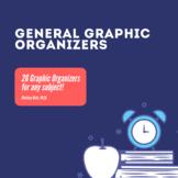 General Graphic Organizers Set
