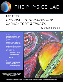 General Guidelines For Laboratory Reports