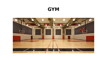 General Gym Vocabulary for ELLs