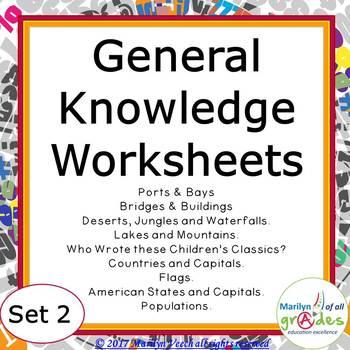 Fill-er-in-er-ers - Set 2 - General Knowledge