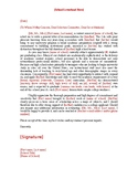 General Letter of Recommendation Template (College and Uni