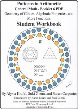General Math:  Booklet 6 - Geometry of Circles, Algebraic Properties Student