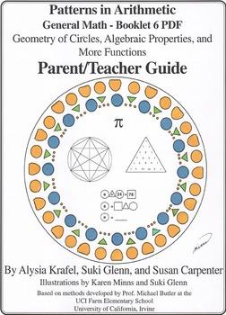 General Math:  Booklet 6 - Geometry of Circles, Algebraic Properties Teacher
