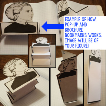 General McClellan Biography Research, Bookmark Brochure, Pop-Up, Writing, Google
