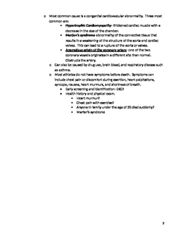 General Medical Conditions Fill-in Notes