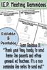 General Meeting Reminder card