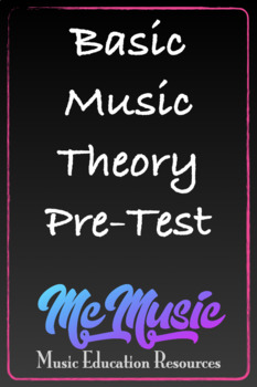 General Music Pre-Test