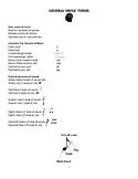 General Music Terms