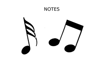 General Music Vocabulary Words for ELLs