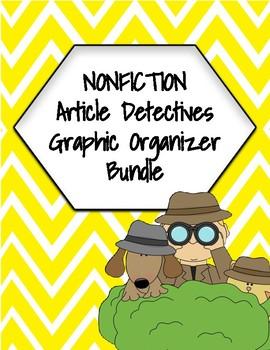 General Non-Fiction Graphic Organizer Bundle