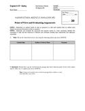 General Nonfiction Analysis Question Set #3 (Common Core)